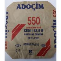 Цемент 500 ADOÇiM Турция ( мешок  25 кг)