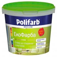 Краска екокраска, Polifarb  1,4 кг купить в Будуйка
