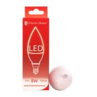 "LED лампа ""свеча"" Е14 8W купить в Будуйка"