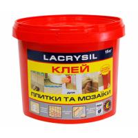 Клей для мозаики и плитки LACRYSIL 15.0 кг купить в Будуйка