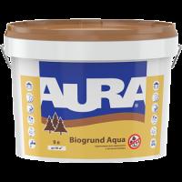 Грунтовка для древесины с антисептиками AURA Biogrund Aqua (Аура Биогрунт Аква)  0,75 л купить в Будуйка