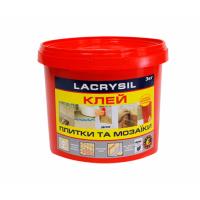 Клей для мозаики и плитки LACRYSIL  3.0 кг купить в Будуйка