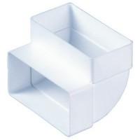 Колено вертикальное Vents 204x60 мм (8282) купить в Будуйка