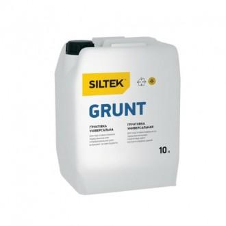 Купить Грунтовка Siltek Grunt,универсальная, (10л.) в интернет магазине Будуйка