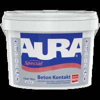 Адгезионная грунтовка AURA Beton Kontakt (Аура Бетон Контакт) 1,4 кг (Украина) купить в Будуйка