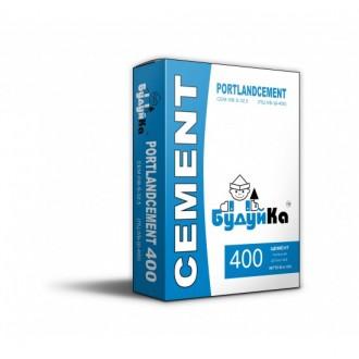 Купить Цемент 400 БУДУЙКА ( мешок 50 кг) в интернет магазине Будуйка