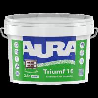 Акриловый лак для мебели AURA Triumf 10 0,75 л купить в Будуйка