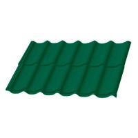Металлочерепиця ПСМ 6005 зеленая 1180х2250 мм купить в Будуйка