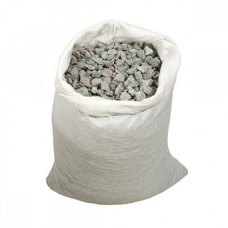 Купить Щебень гранитный фракция 5-20 фасованный в мешках  в интернет магазине Будуйка