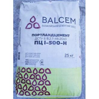 Купить Цемент ПЦ I-500 заводской Балаклея 25 кг в интернет магазине Будуйка