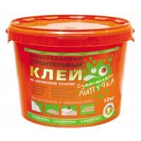Клей монтажный универсальный акриловый 'Сумашедшая липучка' LACRYSIL 12.0 кг купить в Будуйка