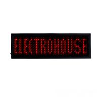 Электронный Led бейдж, красный купить в Будуйка