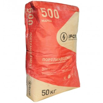 Купить Цемент 500 Ивано-Франковскцемент ( мешок  50 кг) в интернет магазине Будуйка