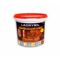 Клей строительный для напольных покрытий 'Ультра Лип' LACRYSIL  1.0 кг купить в Будуйка