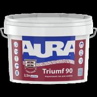 Акриловый лак для мебели AURA Triumf 90 0,75 л купить в Будуйка