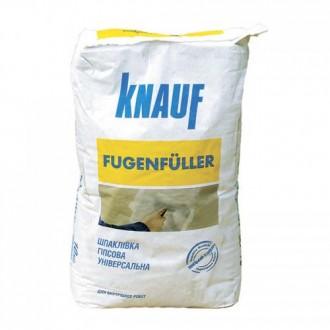 Купить Стартовая шпаклевка Knauf Fugenfuller (Кнауф Фугенфюллер) 25 кг в интернет магазине Будуйка