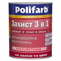 Защита 3 в1 Polifarb, белый,  0,9 кг купить в Будуйка