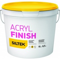Шпатлевка Siltek Acril Finish (Силтек Акрил Финиш) акриловая финишная  5 кг купить в Будуйка