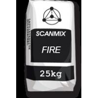 Термостойкая смесь для кладки и ремонта печей и каминов SCANMIX FIRE (Сканмикс Файр) 25 кг купить в Будуйка
