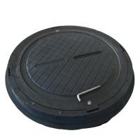 Люк полимерпесчаный легкий А15 черный 1,5 т купить в Будуйка