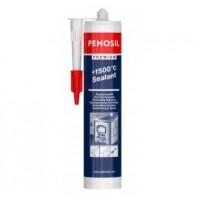 Герметик PENOSIL (Пеносил) высокотемпературный +1500 °C печной черный 310 мл купить в Будуйка