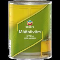 Акриловая краска для мебели Eskaro Mooblivarv 0,45 л  купить в Будуйка