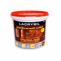 Клей строительный для напольных покрытий 'Ультра Лип' LACRYSIL  3.0 кг купить в Будуйка