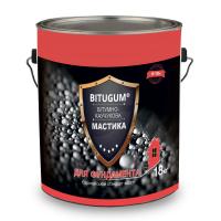 Мастика Izofast Bitugum (Изофаст Битугум) битумно-каучуковая  3 кг купить в Будуйка