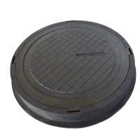 Люк полимерпесчаный средний В125 черный 12.5 т купить в Будуйка