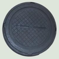Люк полимерпесчаный тяжелый С250 черный 25 т купить в Будуйка