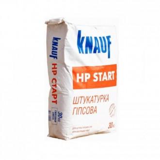 Купить Гипсовая штукатурка стартовая Knauf HP Start (Кнауф НР Старт) 30 кг в интернет магазине Будуйка