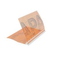 Профиль капельник с сеткой 2,5м, Capatect Tropfkatenprofile PVC купить в Будуйка