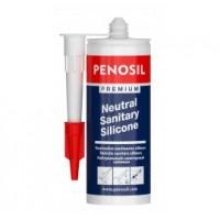 Герметик PENOSIL (Пеносил) Premium санитарный силиконовый белый 310 мл купить в Будуйка