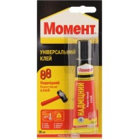 Клей МОМЕНТ 88 универсальный особопрочный  30 мл   Henkel купить в Будуйка