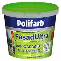 Краска Фасад-Ультра Polifarb,  1,4 кг купить в Будуйка