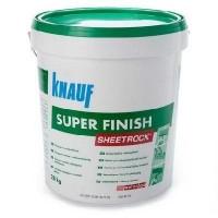 Шпатлевка KNAUF Sheetrock Super Finish (Кнауф Шитрок Супер Финиш) пастоподобная 28 кг купить в Будуйка