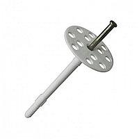 Дюбель Зонтик для теплоизоляции 10х100 мм металлический гвоздь купить в Будуйка