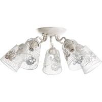 Люстра Accento Lighting Navarra ALDW-MB3204-5A белая купить в Будуйка