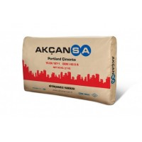 Цемент 500 AKÇANSA Турция ( мешок  25 кг)