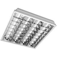 Светильник растровый вcтроенный Estares LED ЛПБ-Н-4x9 594х594 мм купить в Будуйка
