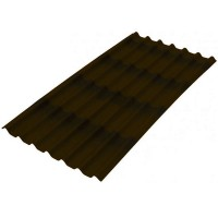 Лист битумный Ондулин 2000х960 мм коричневый купить в Будуйка