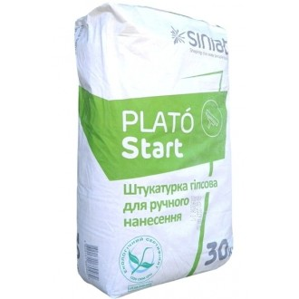 Купить Стартовая штукатурка гипсовая Plato Start  30 кг в интернет магазине Будуйка