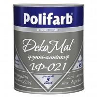 Грунт Polifarb ГФ-021 белая,  0,9 кг купить в Будуйка