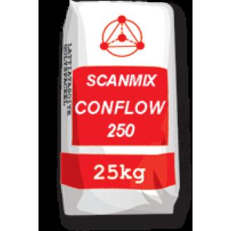 Купить Самовыравнивающаяся смесь для пола SCANMIX CONFLOW 250 (Сканмикс Конфлоу 250) 25 кг в интернет магазине Будуйка