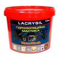 Мастика гидроизоляционная акриловая суперэластичная LACRYSIL 12.0 кг купить в Будуйка