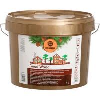 Антисептик для деревянных фасадов и срубов Eskaro Good Wood (Эскаро Гуд Вуд) 0.9 л купить в Будуйка