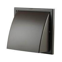 Вентиляционная решетка Vents МВ 154х110 мм Ø100 мм коричневая купить в Будуйка