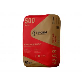 Купить Цемент ПЦ-А-В- 500 заводской Ивано-Франковск (50 кг) в интернет магазине Будуйка