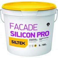 Краска силиконовая фасадная Siltek Facade Silicon Pro (Силтек Силикон Фасад Про) База 9 л купить в Будуйка