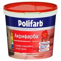 Краска акрикраска, Polifarb  1,4 кг купить в Будуйка